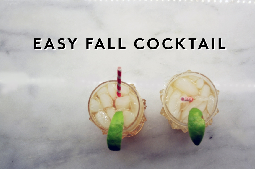 The Best Fall Cocktail You Should Be Drinking Right Now