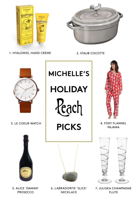 Michelle's Peach Picks